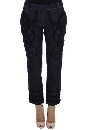 Dolce & Gabbana Denim Capri Torero Jeans