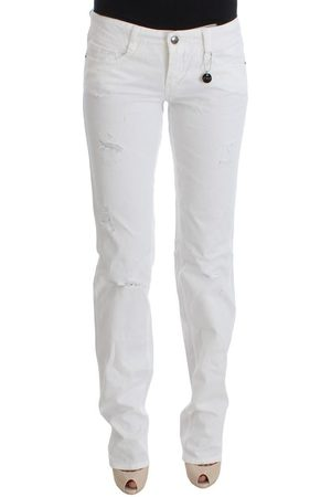 Costume National Kvinna Bootcut - Slim Fit Denim Bootcut Jeans