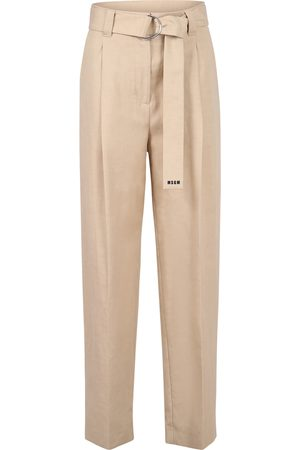 Msgm Belted trousers
