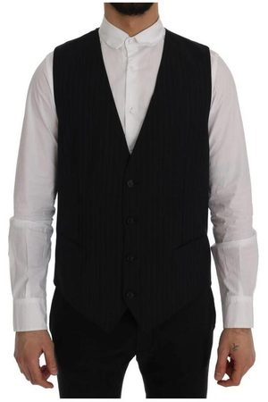 Dolce & Gabbana Staff Wool Stretch Vest