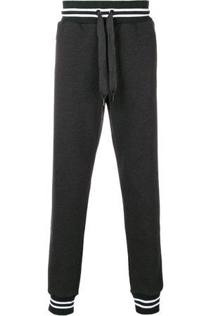 Dolce & Gabbana Man Joggingbyxor - Träningsbyxor med elastiska ärmslut