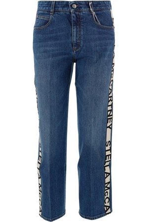 Stella McCartney Kvinna High waist - High waisted denim jeans