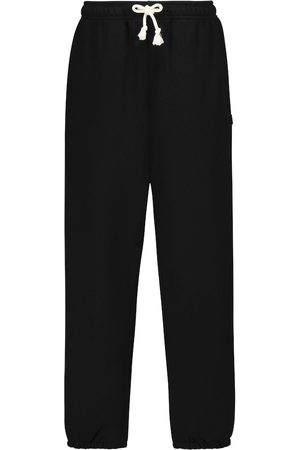 Acne Studios Kvinna Joggingbyxor - Frack Face cotton sweatpants