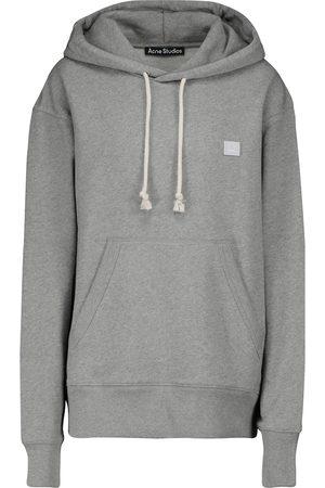 Acne Studios Kvinna Långärmade - Fennis Face cotton hoodie