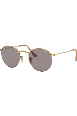 Ray-Ban Round Washed Evolve , Grå Lenses - RB3447