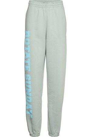 ROTATE Kvinna Joggingbyxor - Mimi Sweatpants Large Print Sweatpants Mjukisbyxor