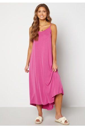SELECTED Kvinna Maxiklänningar - Finia Midi Strap Dress Rose Violet S