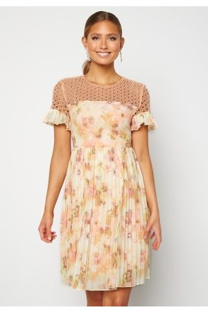 Moments New York Kvinna Klänningar - Dana Chiffon Dress Floral 34