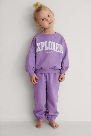 KIDS by NA-KD Kvinna Joggingbyxor - Organiska Basic Sweatpants