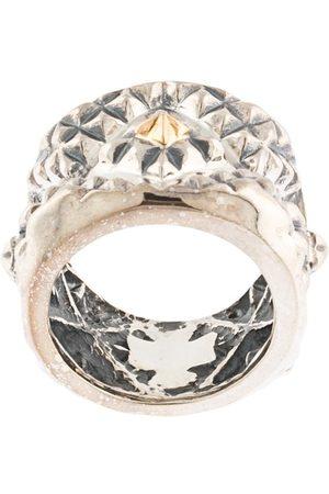 Natural Instinct Man Ringar - Ring med geometriskt mönster