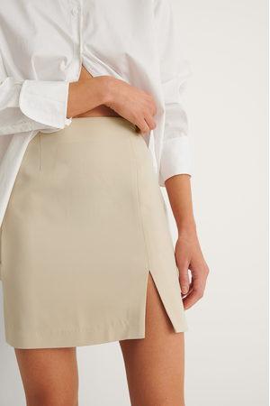 NA-KD Kvinna Minikjolar - Recycled Minikjol Med Slits
