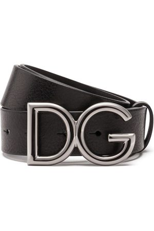 Dolce & Gabbana Man Bälten - Bälte med logotypspänne