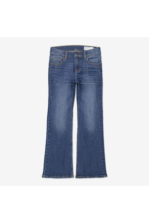 Polarn O. Pyret Bootcut - Jeans bootcut blå denim