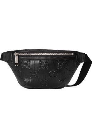 Gucci Man Bälten - GG embossed belt bag