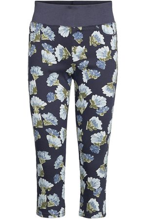 Freequent Fqshantal-Ca-Fola Trousers Capri Trousers