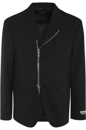 Dsquared2 Man Kavajer - Ceresio 9 Stretch Cool Wool Zip Blazer