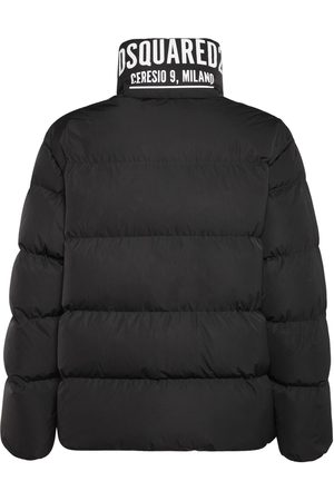 Dsquared2 Man Dunjackor - Ceresio 9 Print Tech Down Jacket