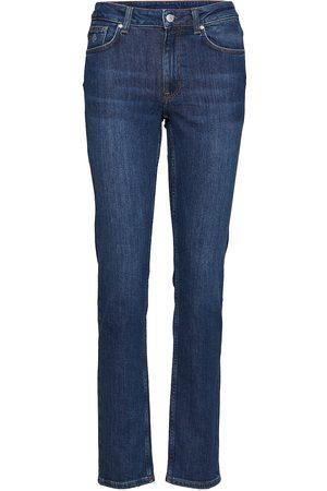GANT Kvinna Slim - Slim Classic Jeans Raka Jeans