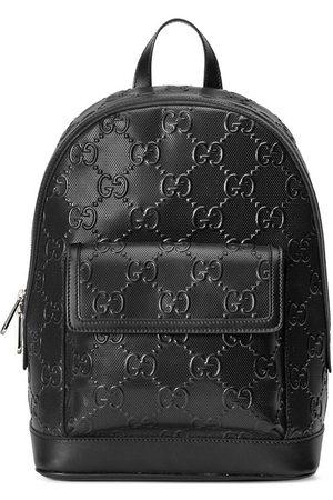 Gucci Man Ryggsäckar - GG-präglad ryggsäck med dragkedja