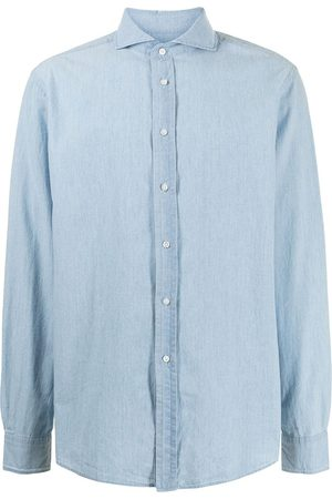 Polo Ralph Lauren Man Jeansskjortor - Cutaway collar denim shirt
