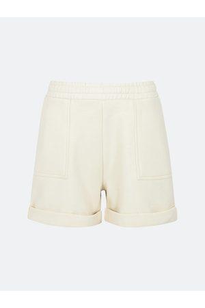 BIK BOK Cream sweatshorts - Offwhite