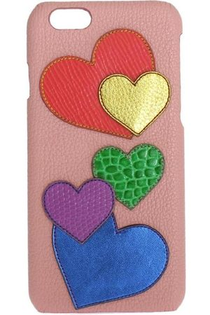 Dolce & Gabbana Kvinna Mobilskal - Leather Heart Phone Cover