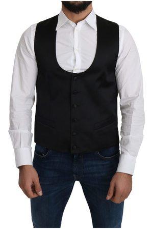 Dolce & Gabbana Silk Formal Waist Coat Vest