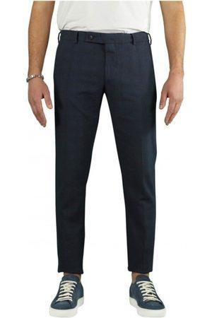 Berwich Morello Overcheck Chino Trousers