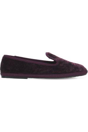 SENTIER Kvinna Loafers - 10mm Principe Velvet Loafers