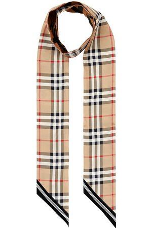 Burberry Sjalar - Smal vintagerutig scarf
