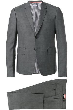 Thom Browne Enkelknäppt kostym med smal passform