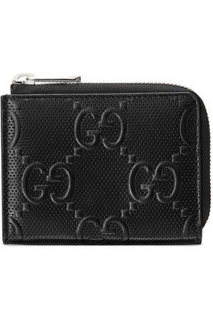 Gucci Man Plånböcker - GG-präglad plånbok