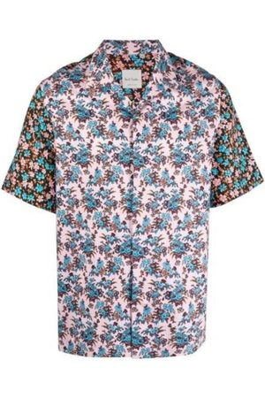 Paul Smith Kvinna Kortärmade - Rizo Floral Print Short-Sleeve Shirt