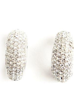 Dior Kvinna Örhängen - Pre-owned Chrystal silver tone earrings