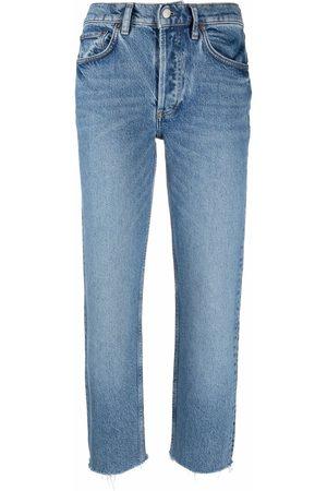 Boyish Jeans Kvinna Slim - Mid-rise slim-leg jeans