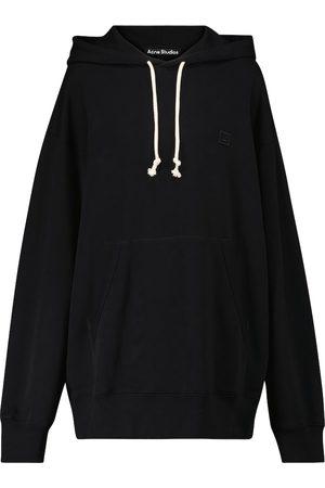 Acne Studios Face cotton hoodie