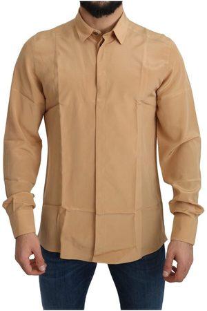 Dolce & Gabbana Gold Top Slim Shirt