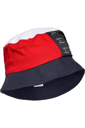 Tommy Hilfiger Tjm Heritage Bucket Hat Cp Accessories Headwear Bucket Hats Blå