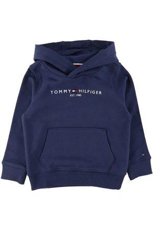 Tommy Hilfiger Hoodie - Essential - Organic - Twilight Marinblå