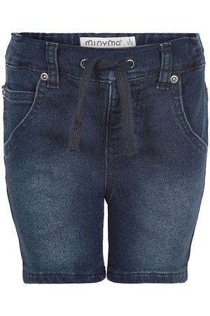 Minymo Flicka Shorts - Shorts - Blue Denim