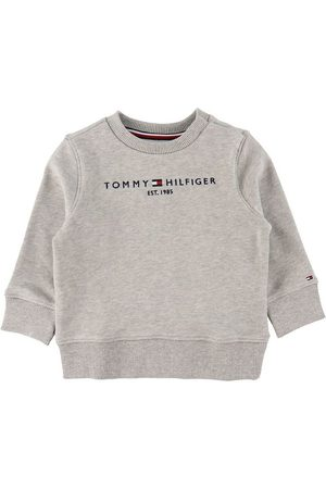 Tommy Hilfiger Sweatshirts - Sweatshirt - Essential - Organic - Gråmelerad