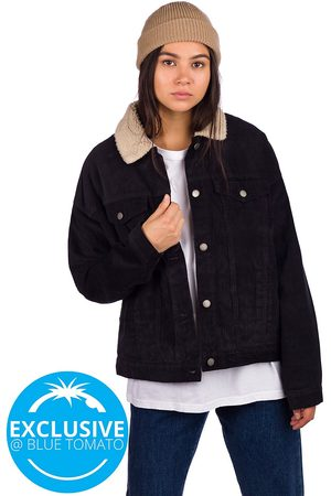 Roxy Good Fortune Sherpa Jacket anthracite