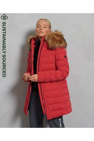 Superdry Kvinna Vinterjackor - Arctic lång täckjacka