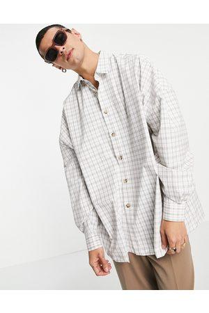ASOS – , rutig skjorta i extrem oversize-modell