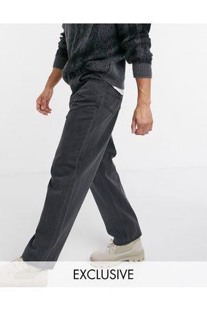 Reclaimed Vintage Inspired – Vintageinspirerade svarta baggy jeans i 90-talsstil