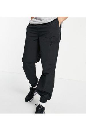 New Look – Svarta mjukisbyxor i oversize- /a