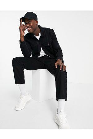 ASOS – jeansjacka i cowboymodell med normal passform- /a