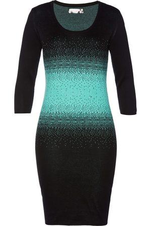 bonprix Stickad klänning