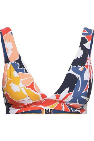 Seafolly Kvinna Bikinis - Banded Tri Bra Bikinitop Multi/mönstrad