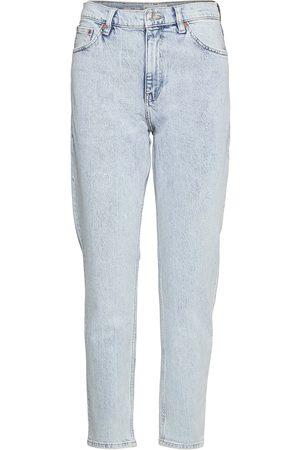 MANGO Newmom Raka Jeans Blå